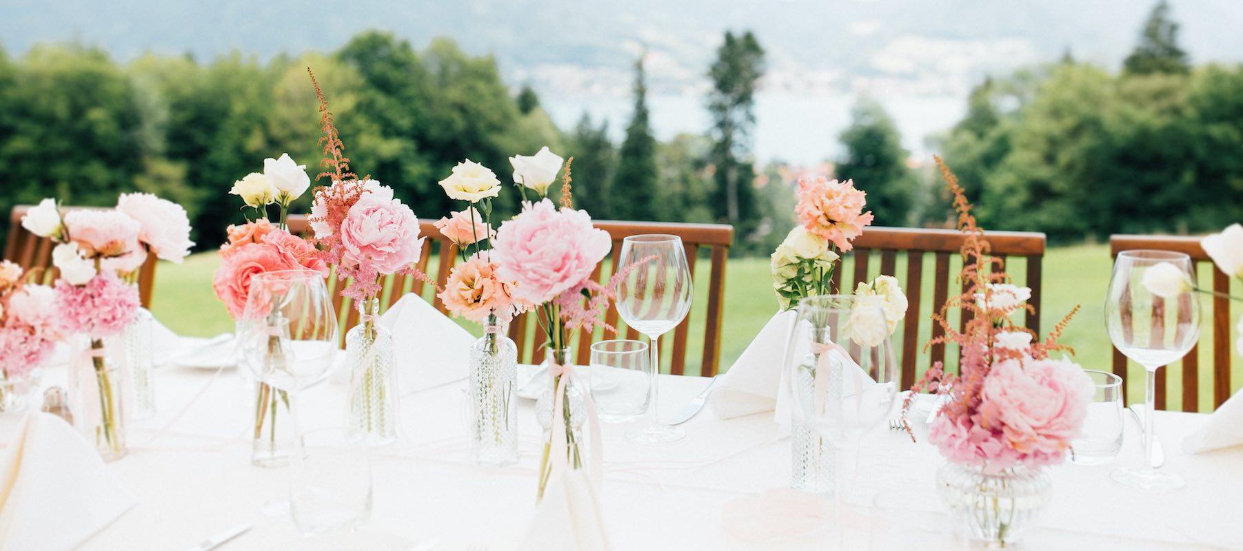 Hochzeitsdekoration in München Weddingplaner