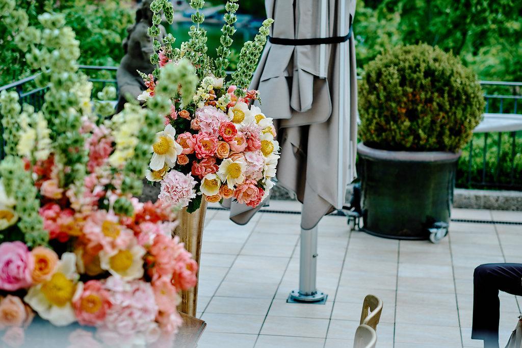 Dekoration Hochzeit München Salzburg