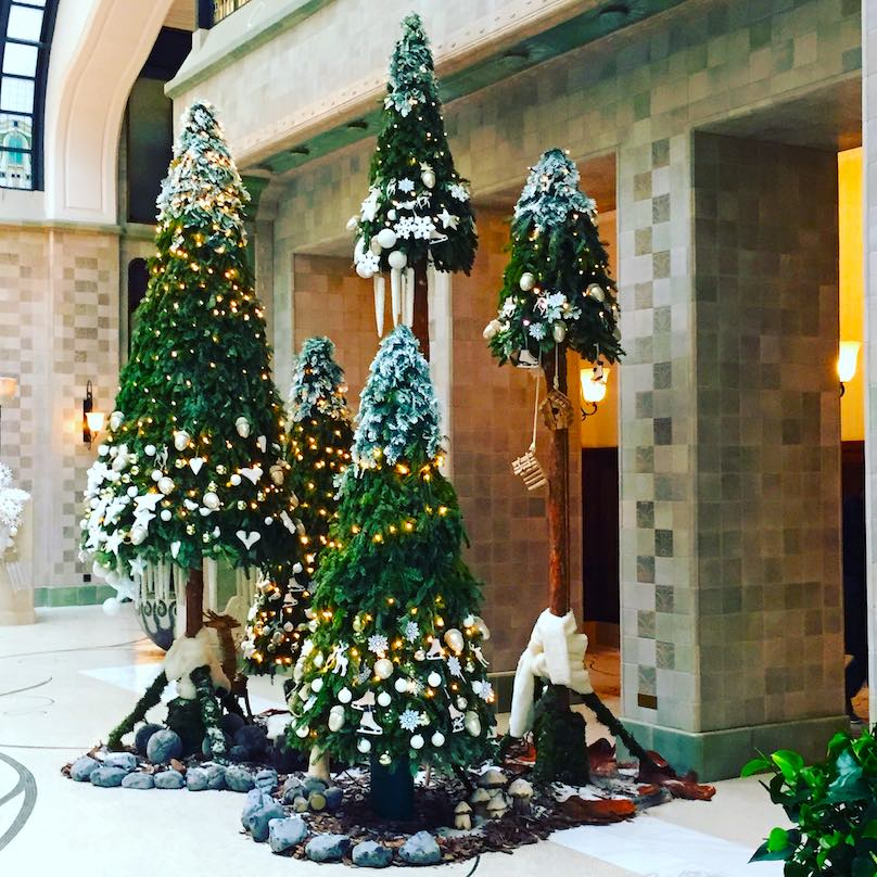 Dekoration Eingangsbereich Hotel münchen