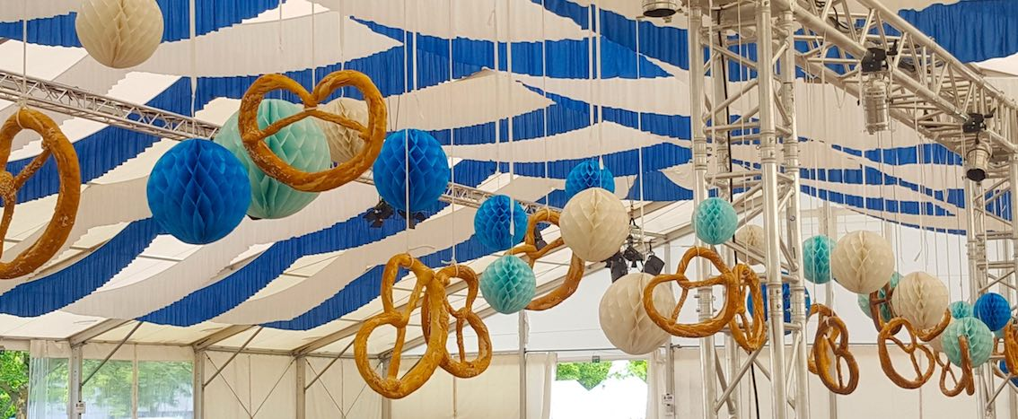 Oktoberfestparty in München planen lassen Dekoration