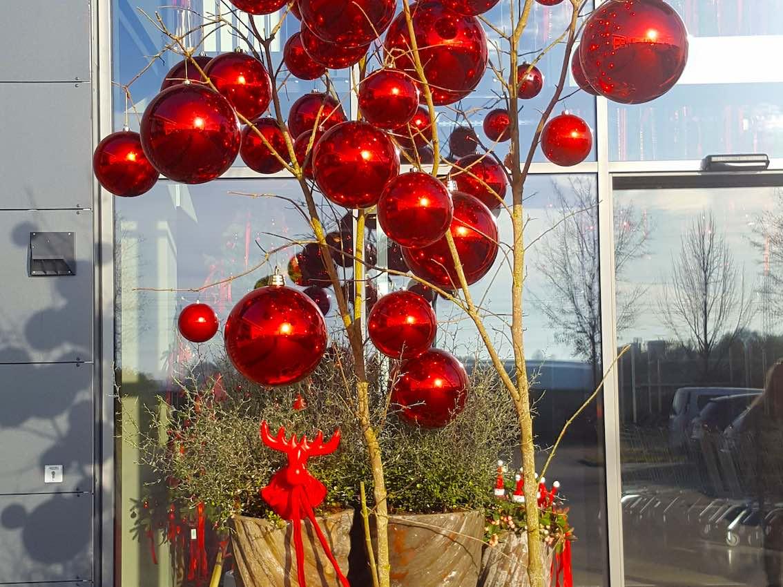 Autohaus München Weihnachtsdeko