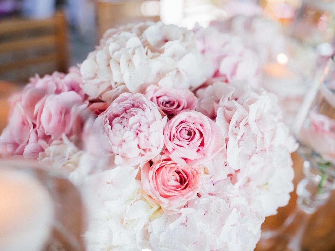 Valentinstag Blumendekoration