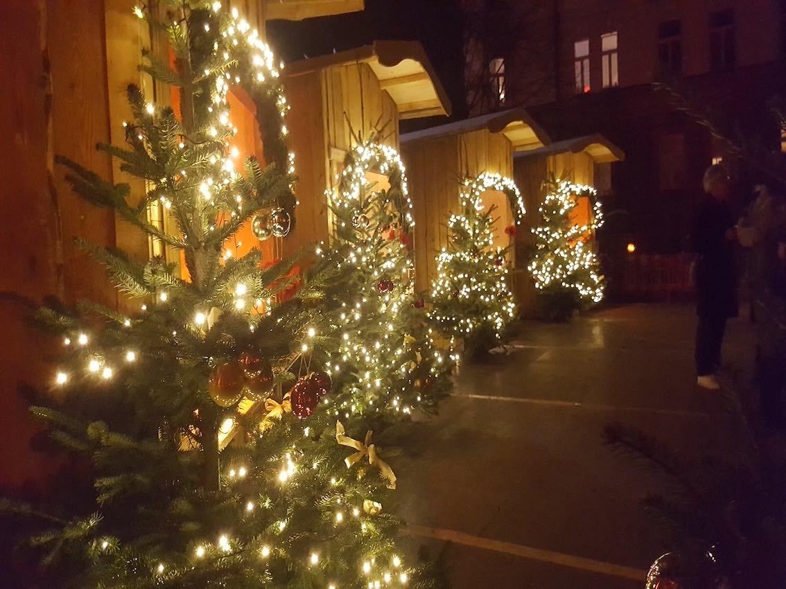 Weihnachtsdeko Christkindlmarkt München