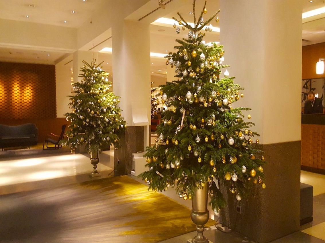 Weihnachtsdeko Hotel München