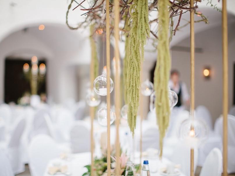 Hängedekoration Hochzeit