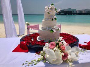 Torte Hochzeit Malediven