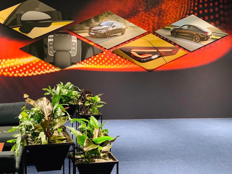 Dekoration Event Produktpräsentation München