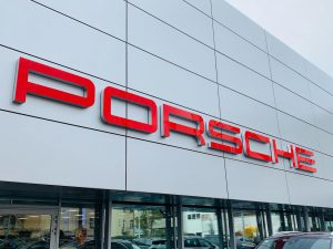 Event Deko Porsche