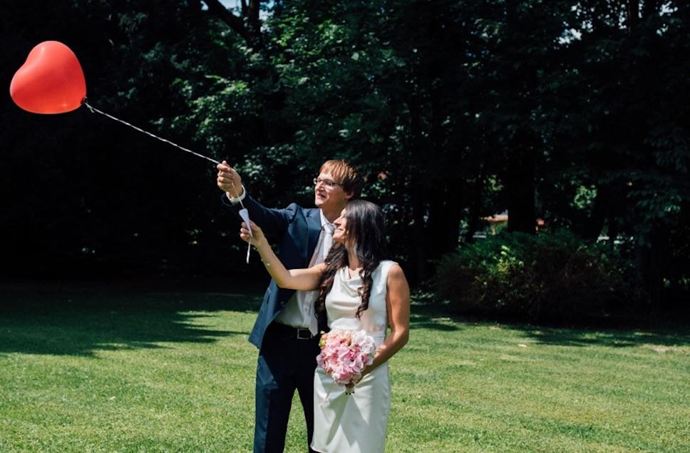 Heiratsantrag Luftballon
