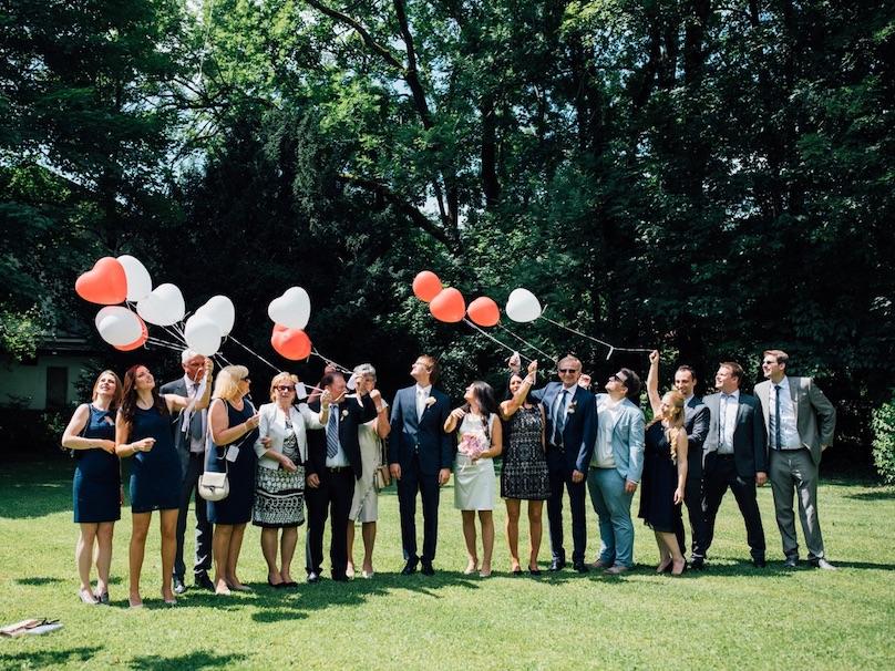 Heiratsantrag Party