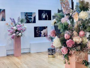 Event Produktdekoration mit Blumen