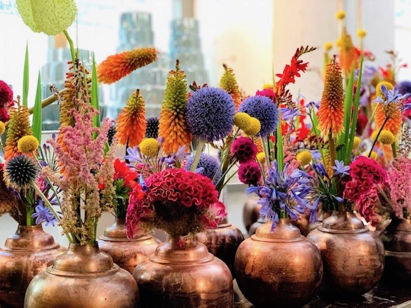 Sommer Event Deko Blumen