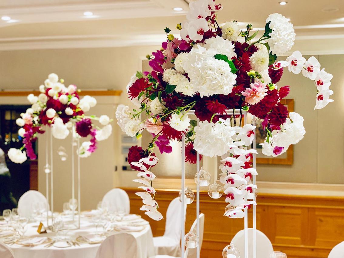 Hochzeitsfloristik Orchideen München