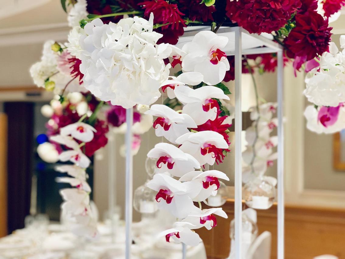 Hochzeitsfloristik Vanda Orchidee