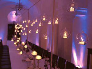 Weihnachtsbeleuchtung Tisch