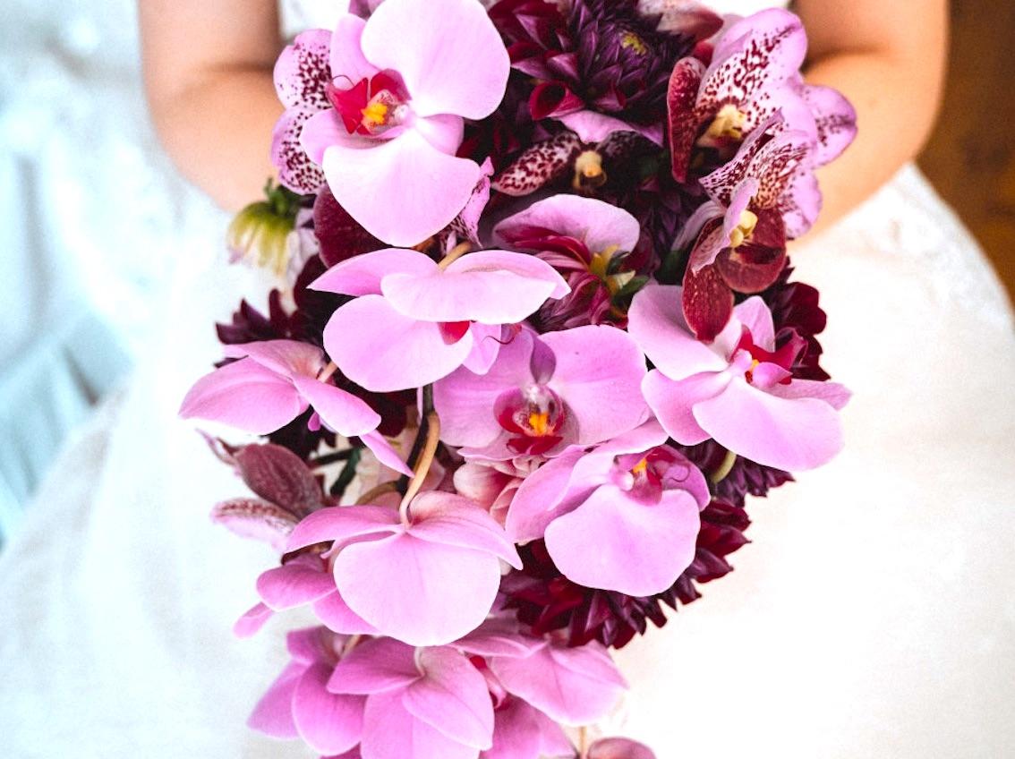 Brautstrauß-Orchideen1