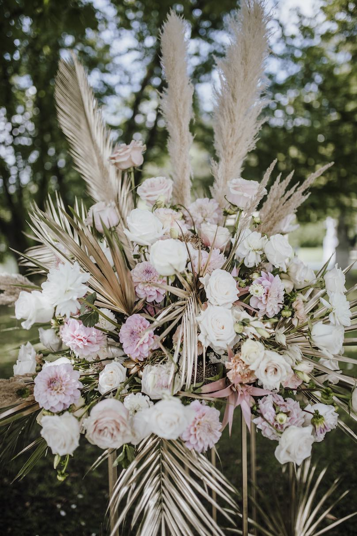 Hochzeitsdeko Trends 2020 Blumendeko