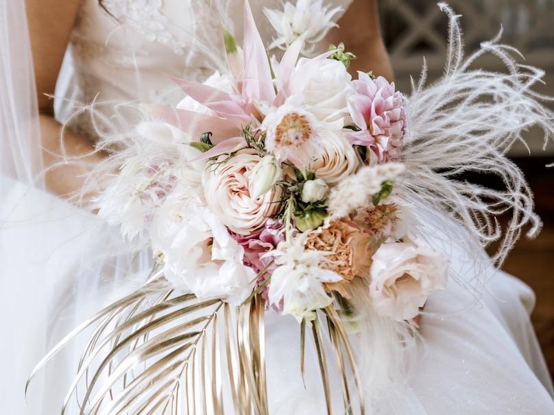 Hochzeitstrend 2020 Brautstrauß