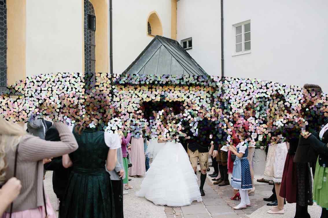 Hochzeit München Dekoration
