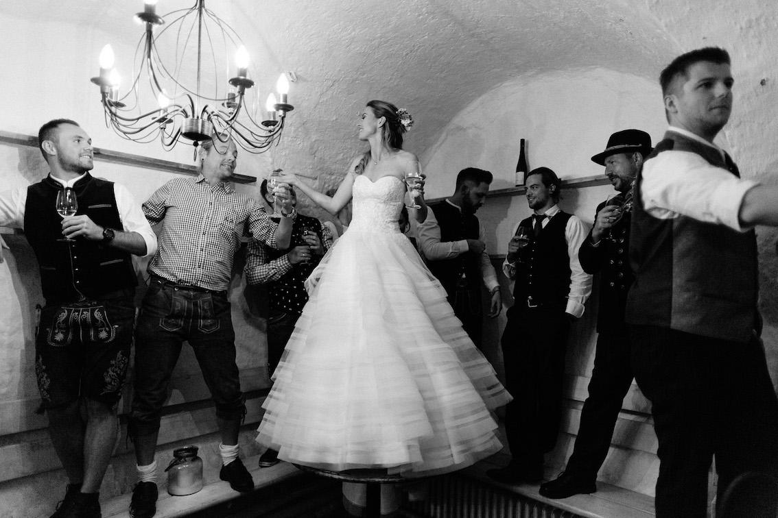 Hochzeit Bayern mit Braut