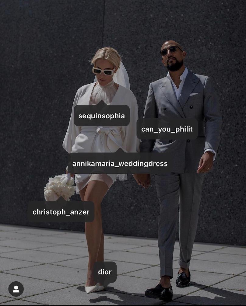 Hochzeit in Weiß