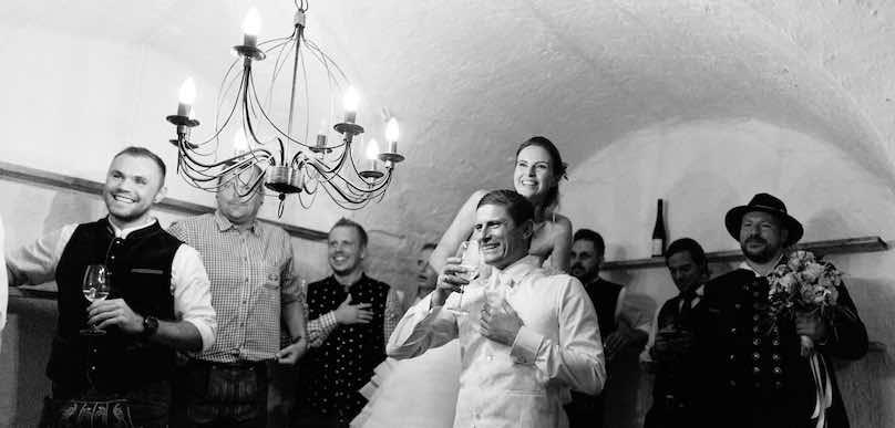 Hochzeitsbrauch Bayern Dekoration durch Hochzeitsdekorateur