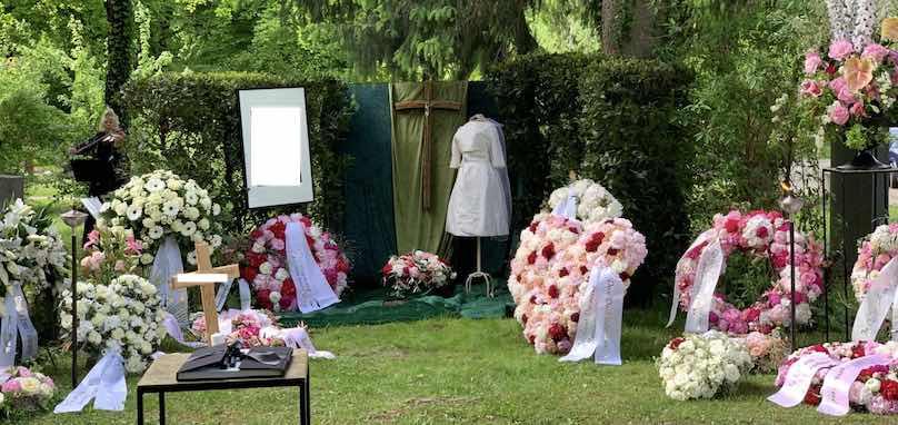 Trauergesteck München vom Dekorateur Blumenladen